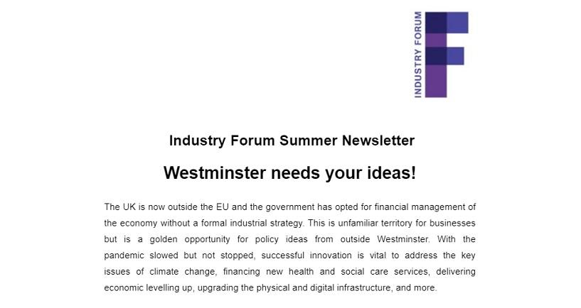 Summer Newsletter Graphic